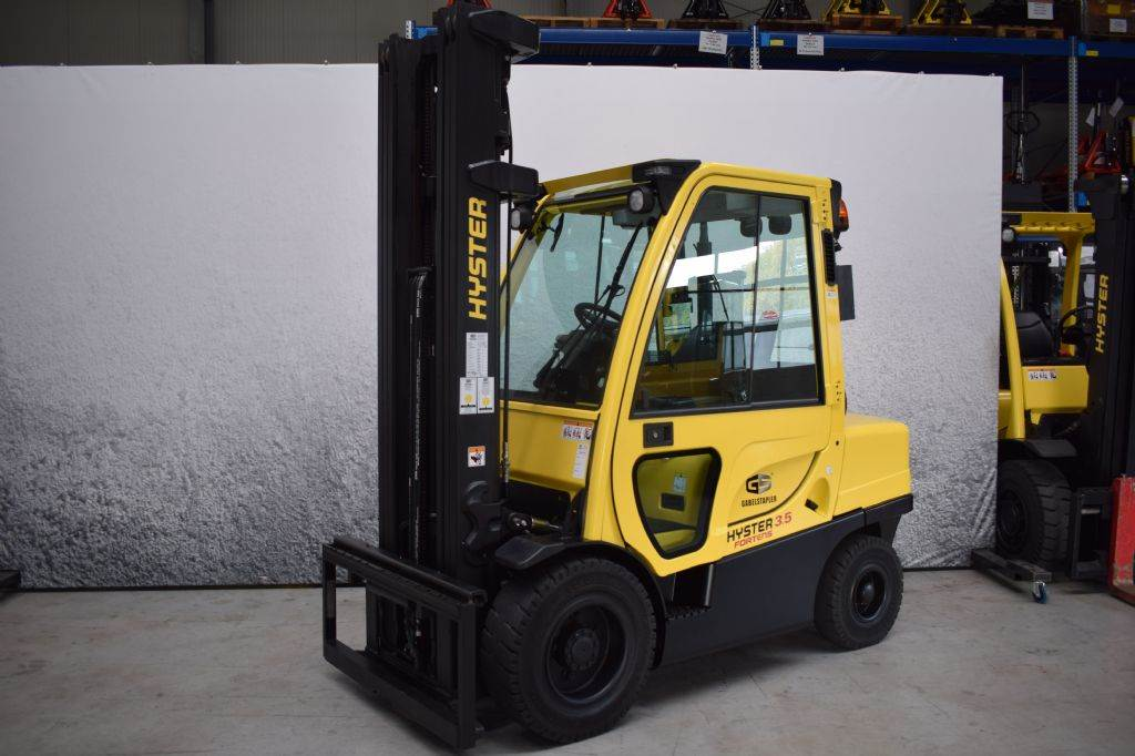 Hyster H 3.50 FT D, Diesel counterbalance Forklifts, Material Handling