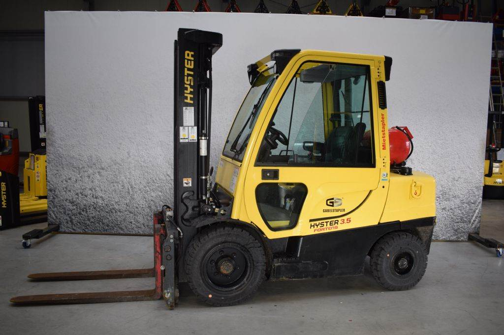 Hyster H 3.50 FT G, LPG counterbalance Forklifts, Material Handling
