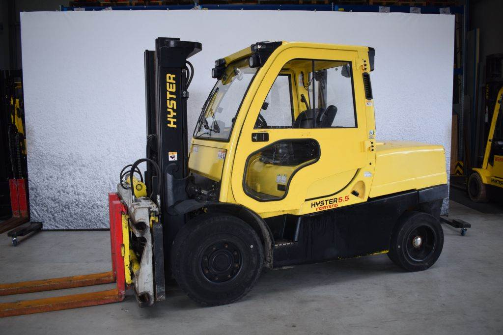 Hyster H 5.50 FT D, Diesel counterbalance Forklifts, Material Handling