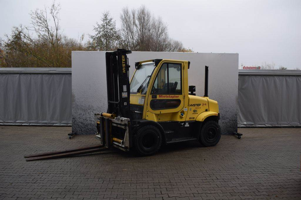 Hyster H 7.00 FT D, Diesel counterbalance Forklifts, Material Handling