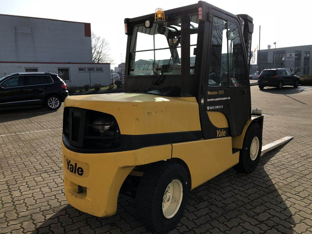 Yale GDP55VX6, Diesel counterbalance Forklifts, Material Handling