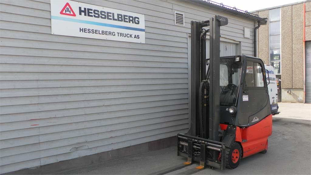 Linde E20/600-336, Elektriske trucker, Truck