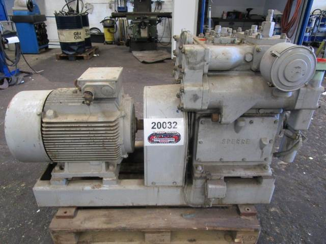 Sperre HV2/200 start air compressor - 30 bar