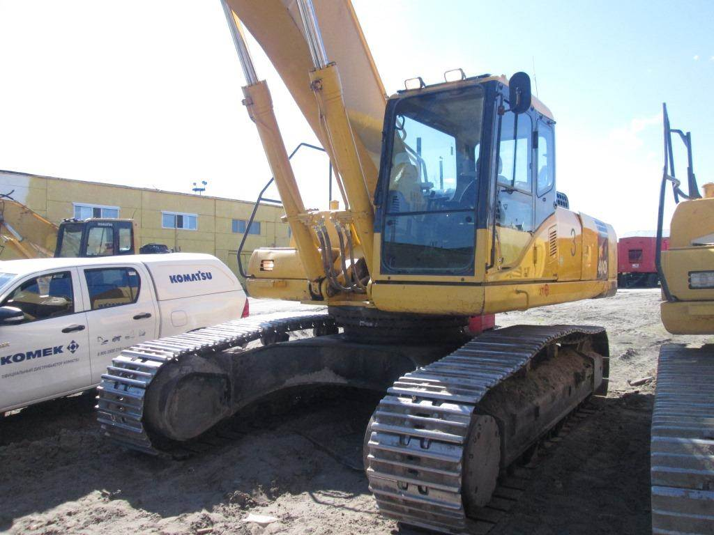 Komatsu РС400-7, Crawler Excavators, Construction Equipment