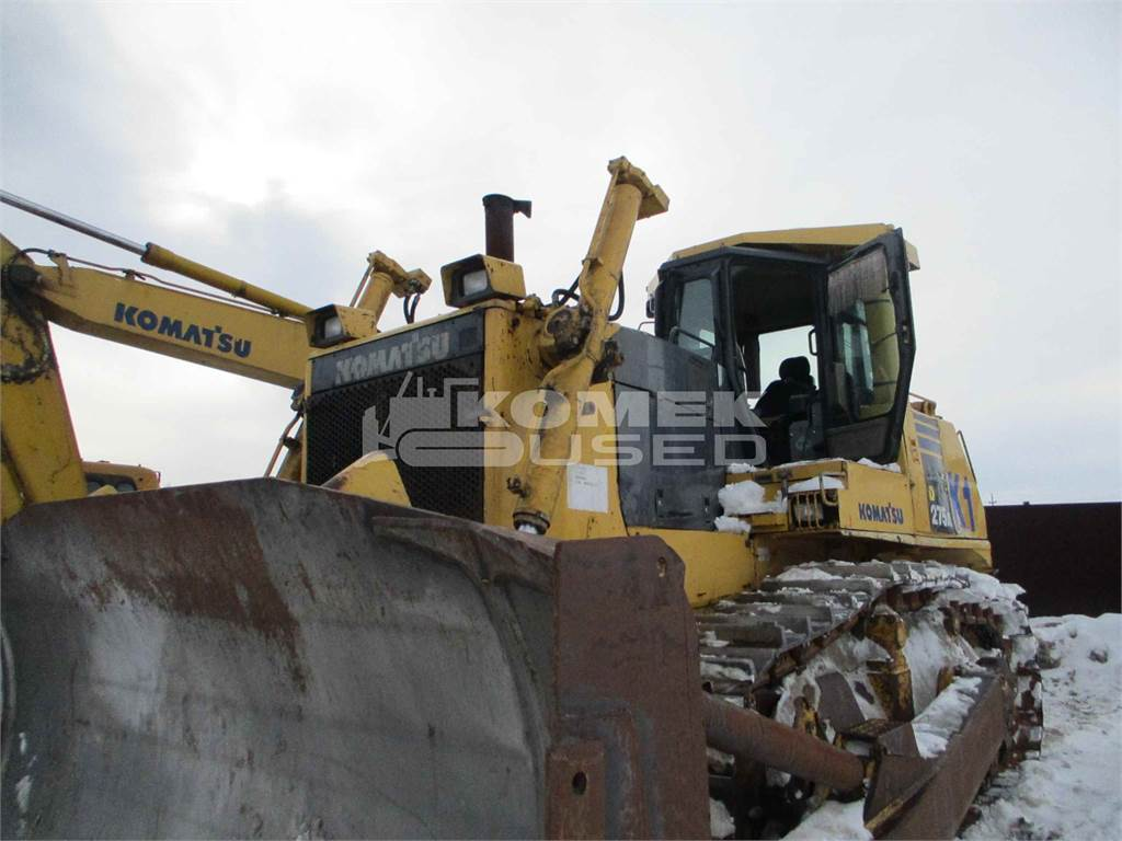 Komatsu D275A-5D, Crawler dozers, Construction Equipment