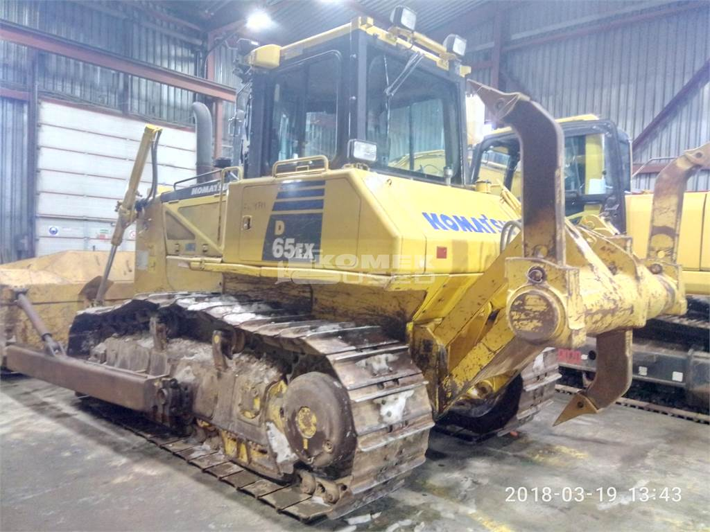 Komatsu D65EX-16, Crawler dozers, Construction Equipment