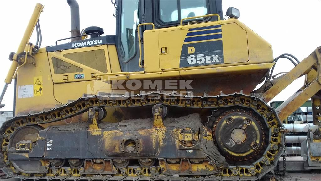 Komatsu D65EX-16, Crawler dozers, Construction Equipment