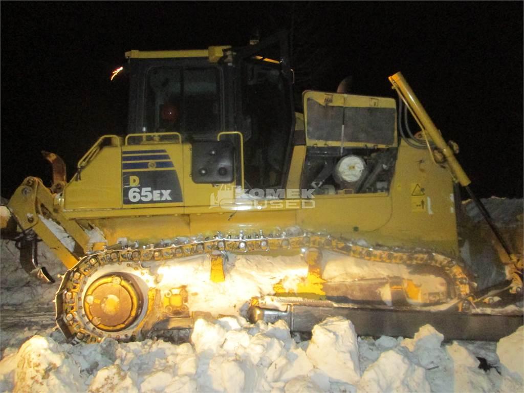 Komatsu D65EX-16, Dozers, Construction Equipment