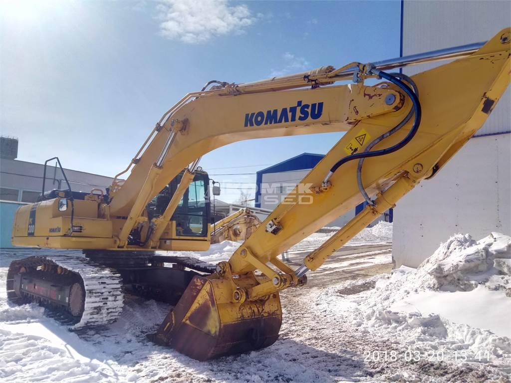 Komatsu PC300-8, Crawler Excavators, Construction Equipment