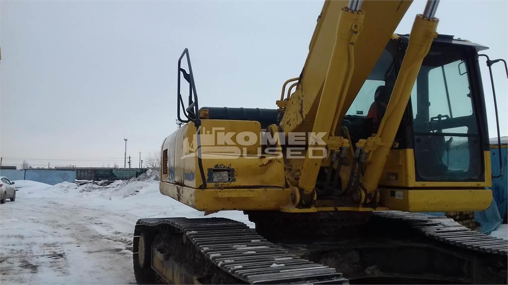 Komatsu PC300LC-8, Crawler Excavators, Construction Equipment