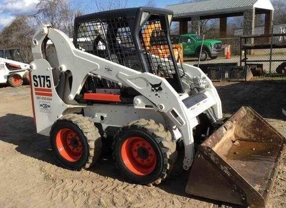 Bobcat S175, Skid Steer Loaders, Construction Equipment