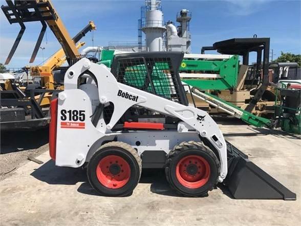 Bobcat S185, Skid Steer Loaders, Construction Equipment