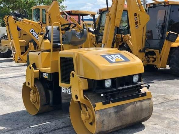 Caterpillar CB-224E, Single drum rollers, Construction Equipment