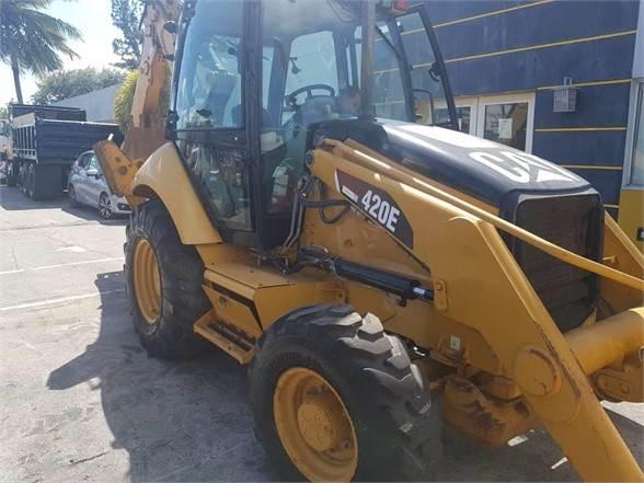 Caterpillar 420E ST, Backhoe Loaders, Construction Equipment