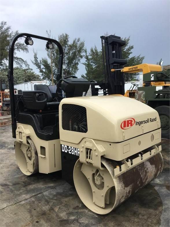 Ingersoll Rand DD28HF, Single drum rollers, Construction Equipment
