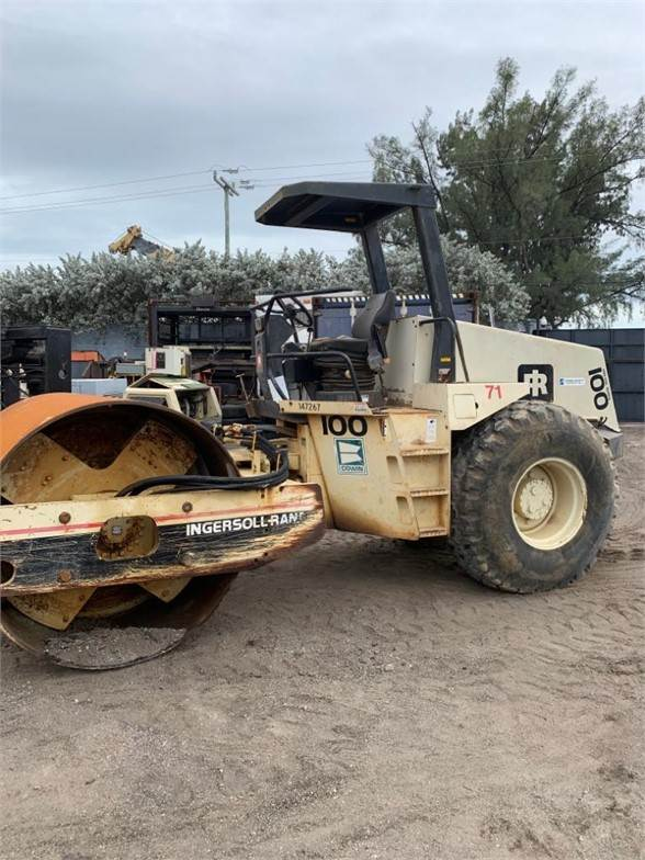 Ingersoll Rand SD100D, Single drum rollers, Construction Equipment