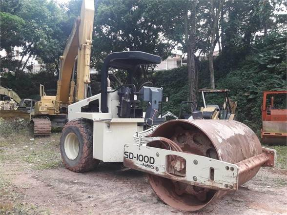 Ingersoll Rand SD100DC, Single drum rollers, Construction Equipment