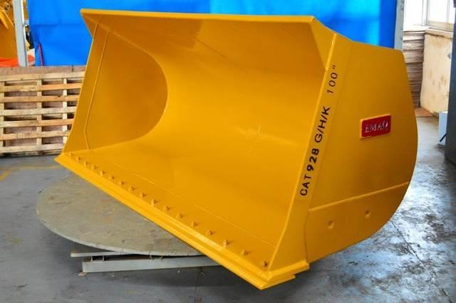 Emaq 103 HD Wheel Loader Bucket - Fits Cat 928G/H- Unus