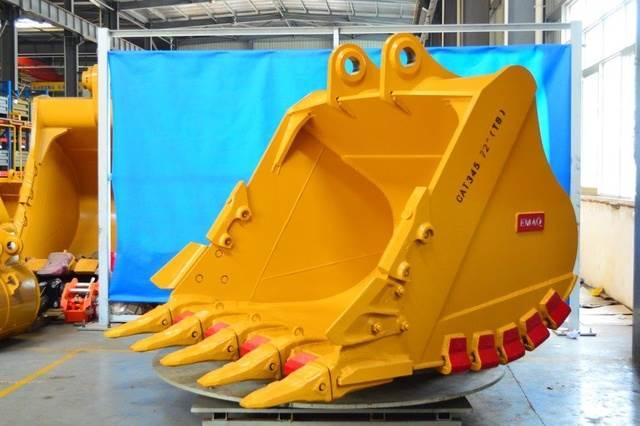 Emaq 72 HD Excavator Bucket w/TB Linkage - Fits Cat 345