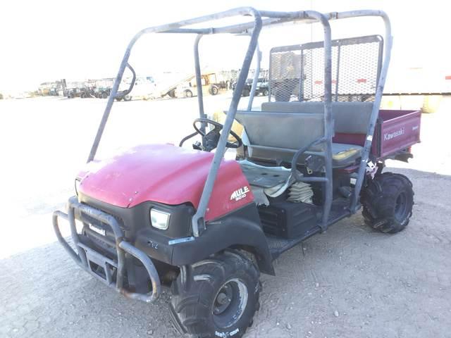 Kawasaki 3010 Mule Trans 4x4