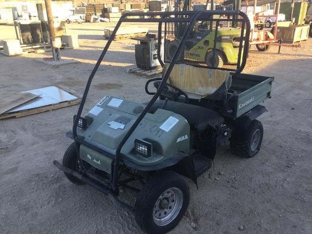Kawasaki Mule 550