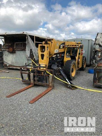 [Other] Forklift, Caterpillar, Broken Mast