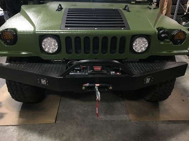 [Other] HMMWV HD Front Bumper w/Winch