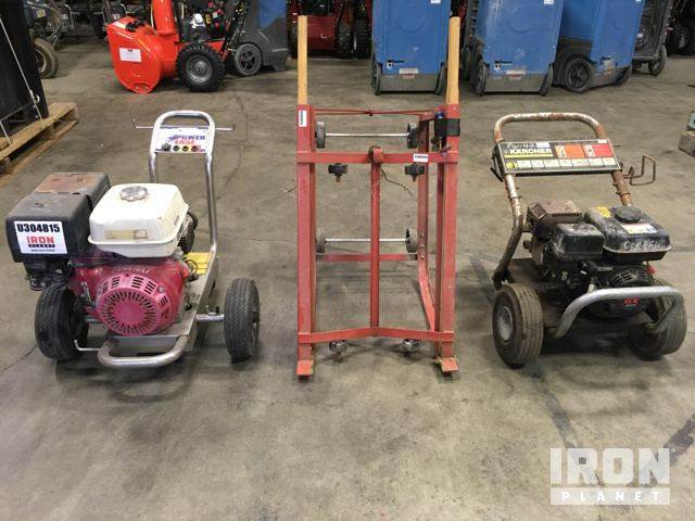 [Other] Lot of (2) Pressure Washers & (1) Drum Dolly
