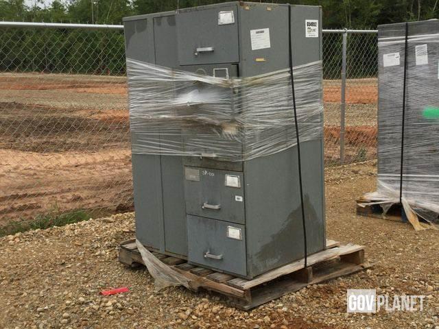 [Other] Lot of (4) Mosler File Cabinet Safes