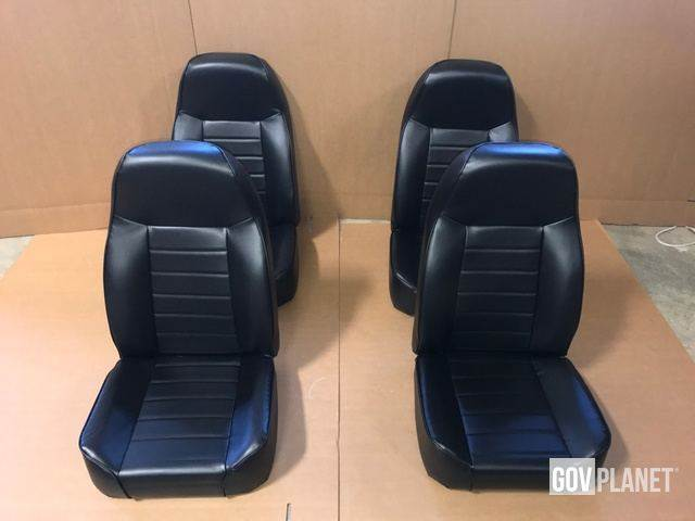[Other] Set of 4 HMMWV High-Back Seats