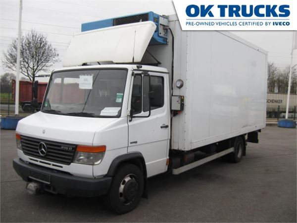 Used mercedes benz 816 d tiefk hlkoffer reefer trucks year for Mercedes benz offers usa