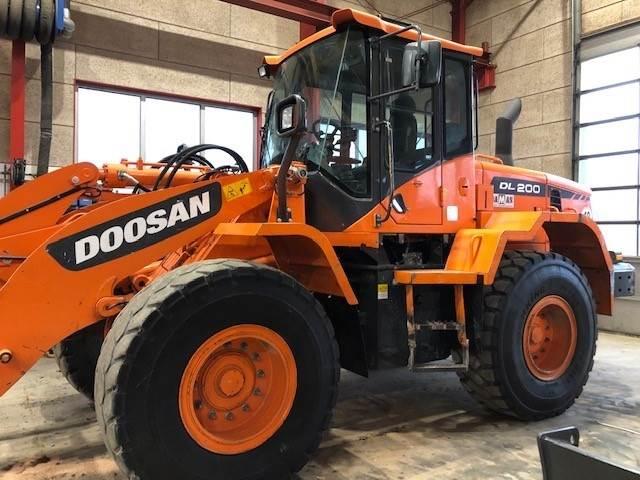 Doosan DL200-3, Wheel Loaders, Construction Equipment