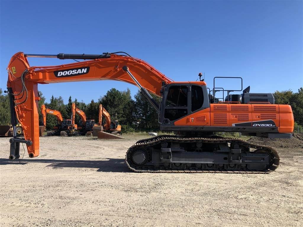 Doosan DX530LC-5, Crawler Excavators, Construction Equipment