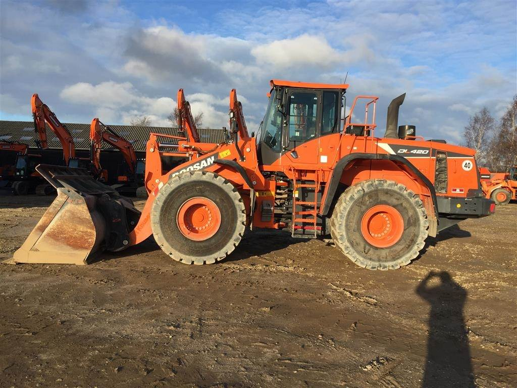 Doosan DL420-5, Wheel Loaders, Construction Equipment
