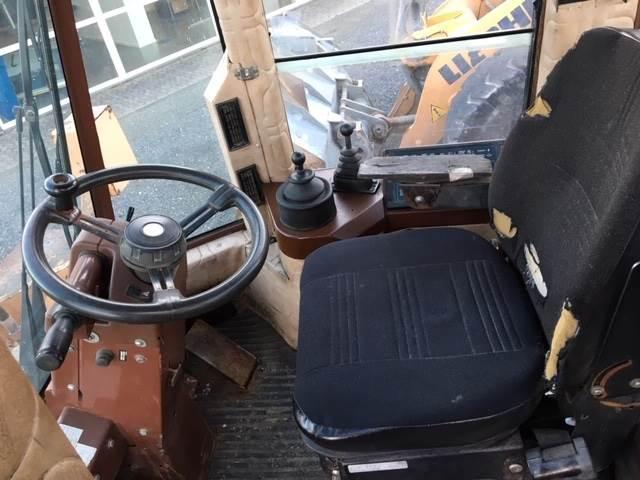 CASE 721, Læssemaskiner på hjul, Entreprenør