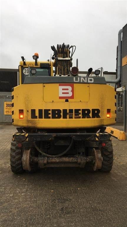 Liebherr A900C Litronic, Gravemaskiner på hjul, Entreprenør