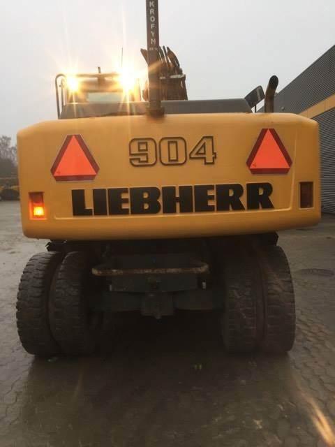 Liebherr A904 A904C, Gravemaskiner på hjul, Entreprenør