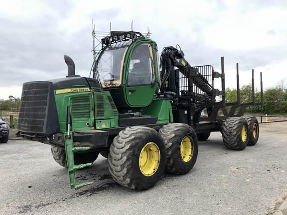 John Deere 1510E, Vyvážecí traktory, Lesní technika