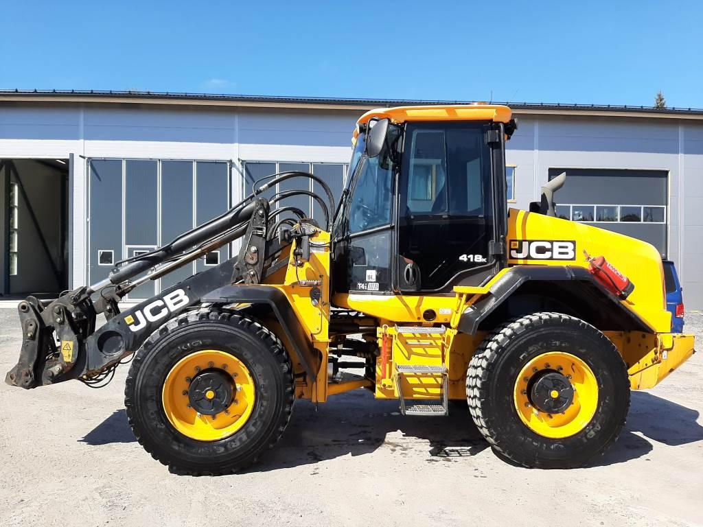 JCB 418K T4, Wheel loaders, Construction