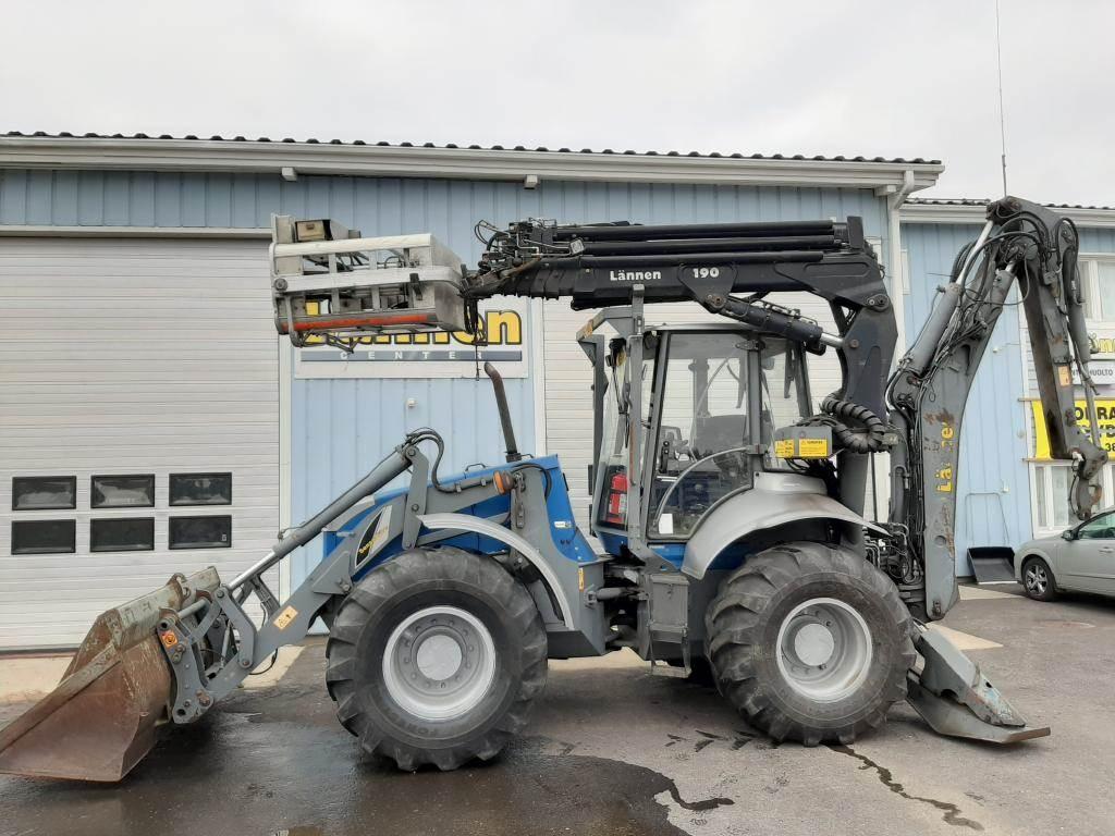 Lännen 8600E, Backhoe loaders, Construction