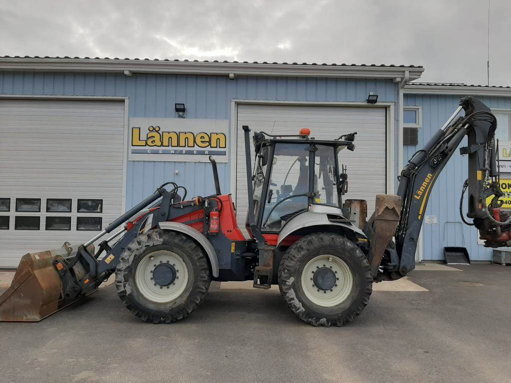 Lännen 8600G, Backhoe loaders, Construction