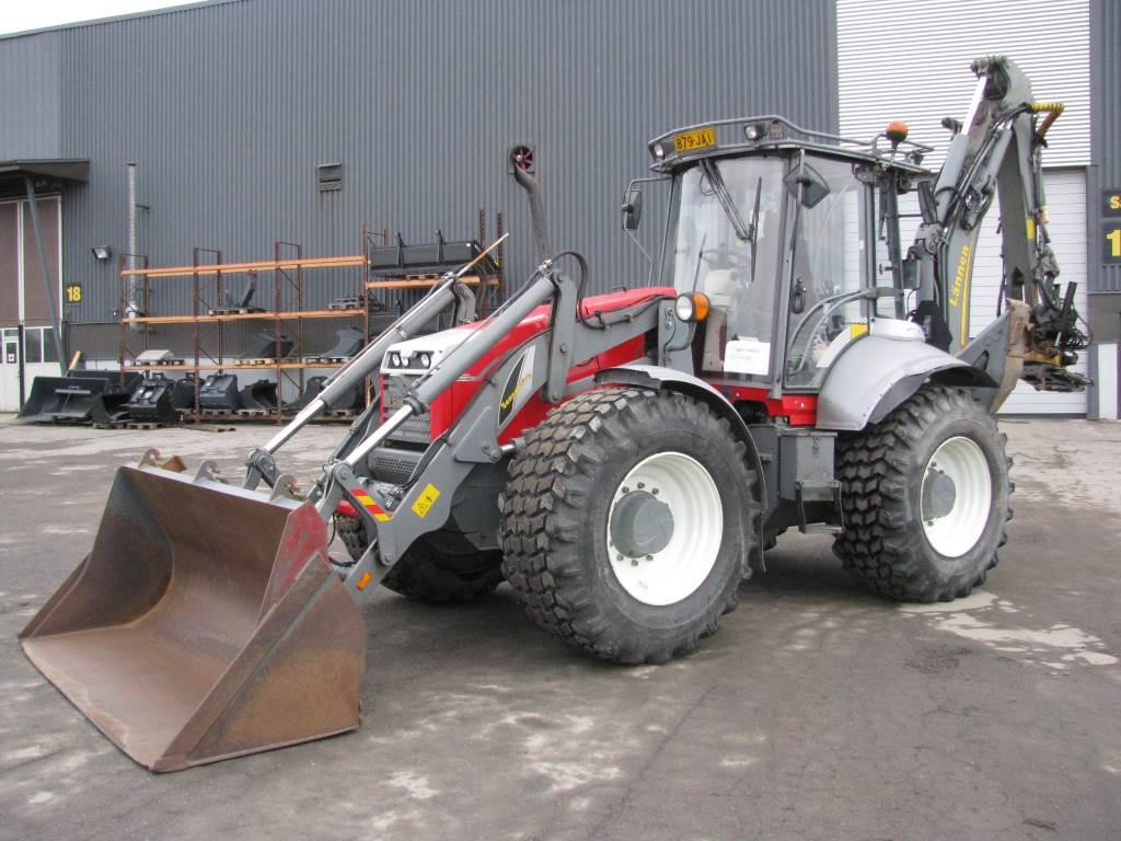 Lännen 8600G, Backhoe loaders, Construction