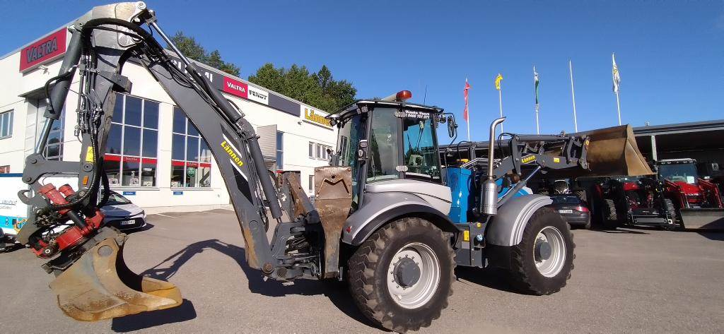 Lännen 8600i, Backhoe loaders, Construction
