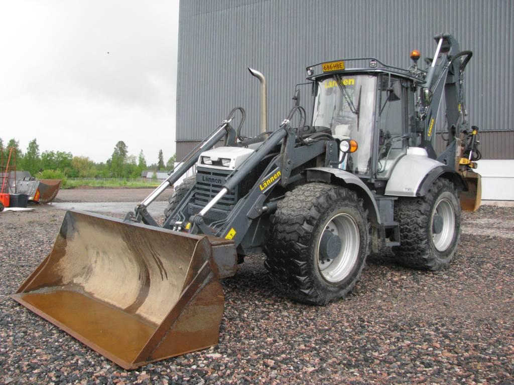Lännen 8600i, Backhoe loaders, Construction