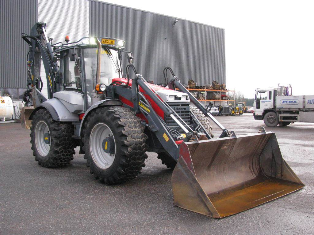Lännen 8600ie Premium, Backhoe loaders, Construction