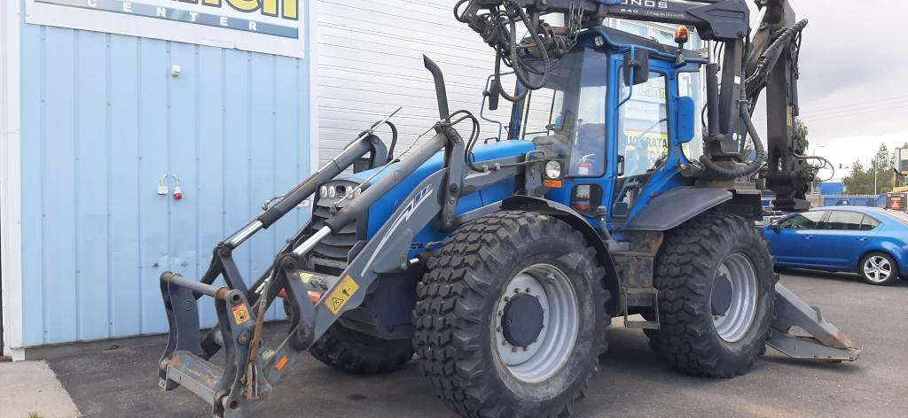 Lännen 860C, Backhoe loaders, Construction