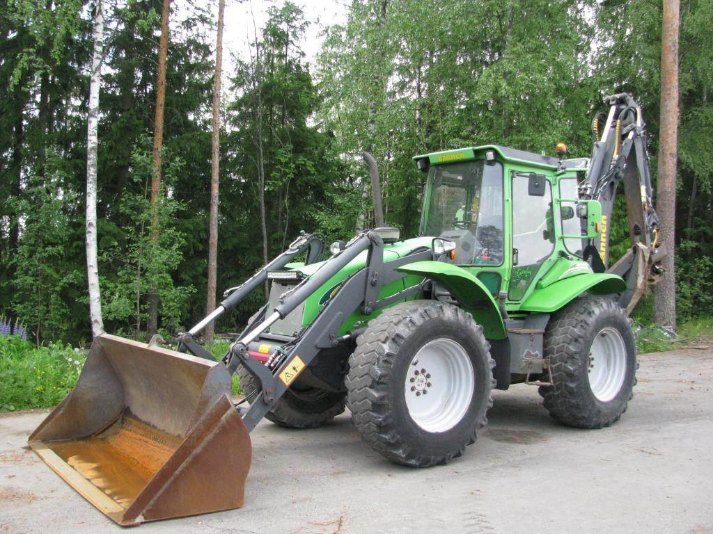 Lännen 860S, Backhoe loaders, Construction