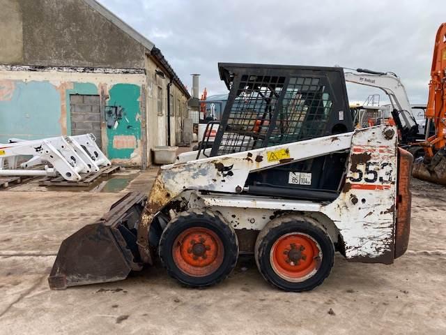 Bobcat 553 skid steer loader 2003, Other, Construction Equipment