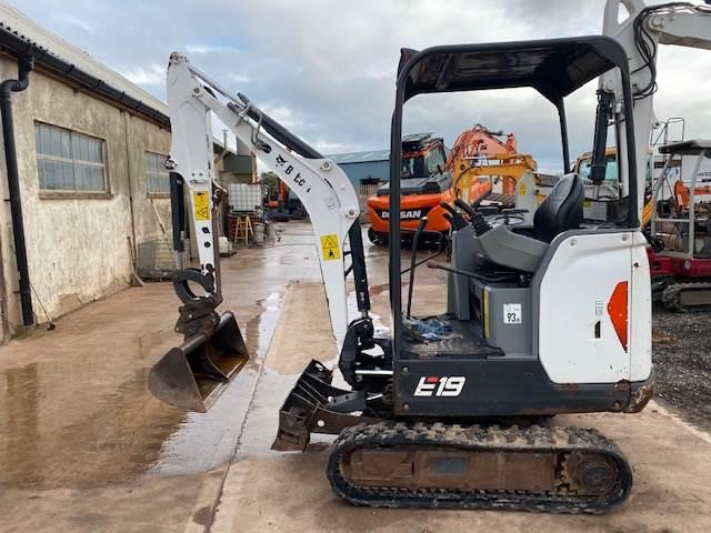 Bobcat E19 mini excavator 2015, Other, Construction Equipment