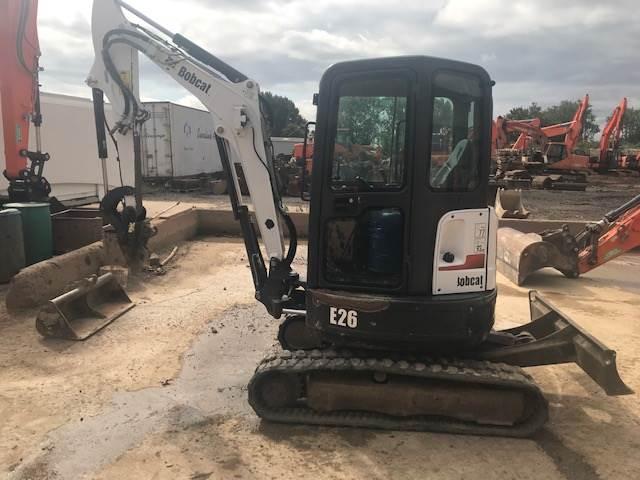 Bobcat E26 mini excavator, Other, Construction Equipment